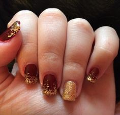 Cute nails for fall and winter!