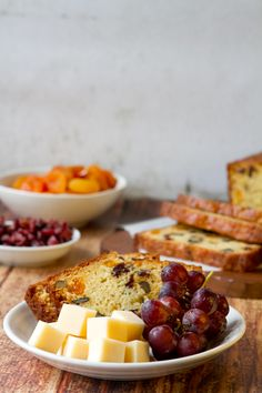 La Crema Bread with Apricots and Cranberries