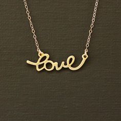 Hey, I found this really awesome Etsy listing at http://www.etsy.com/listing/110182867/gold-love-necklace