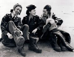 U.S. Army nurses prepping for a fly mission, World War II.