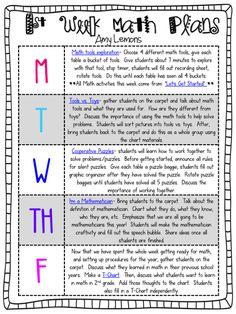 First Week Plans--Step into Grade with Mrs. Lemons: New School Year 2nd Grade Classroom, Math Classroom, Classroom Ideas, Classroom Organization, Future Classroom, Classroom Management, Beginning Of School, New School Year, Middle School