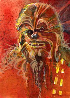 Chewie by Mark McHaley