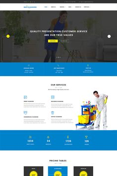 #Cleaning #Company #WordPress #Theme Drag and Drop Page Builder ( Visual Composer ) Revolution Slider One click Demo setup WPML Support WordPress Live Customizer Super Clean Responsive Design Powerful, Easy to Use, Admin Panel and Theme Options Translation Ready (.po/.mo files included)