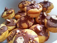 Schokobon-Kinderschokolade-Muffins