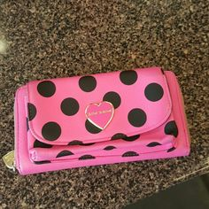 Betcy johnson wallet and phone case Normal wear Betsey Johnson Bags Clutches & Wristlets