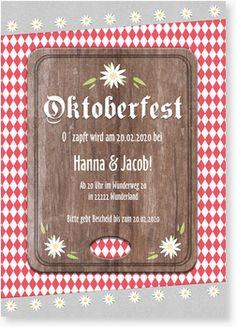 Einladung zum Oktoberfest - Brotzeit