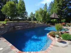 129 best pool raised bond beam images swimming pool - Bonding an above ground swimming pool ...