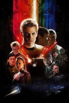 Star Trek (2009) Illustrated Film Poster by Paul Shipper