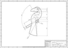 학습도면 > 2D 연습도면 > 오토캐드 연습도면 - 787 : 네이버 블로그 Autocad, Youtube Drawing, Interesting Drawings, Cad Drawing, Technical Drawing, Logo Inspiration, Fun Projects, Pixel Art, Geometry
