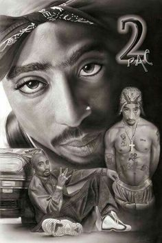 2pac Shakur by yafshakur7 (cousin )