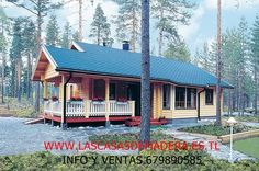 Cabin, House Styles, Blog, Home Decor, Prefab Homes, Wood Frame House, Shelters, Modern Houses, Trendy Tree