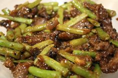 Stir Fried Beef with Green Beans