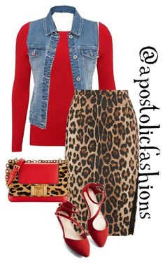"""""""Apostolic Fashions #1219"""" by apostolicfashions on Polyvore featuring M&Co, maurices, Altuzarra and Prada"""