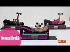 ▶ Quick Workout: Get in Shape Fast with this 5-Minute High-Intensity Circuit from Women's Health - YouTube
