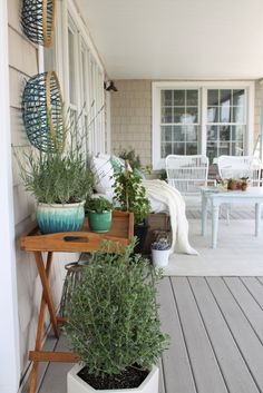 Summer Front Porch-Simple Touches