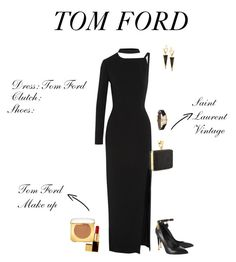 """Untitled #328"" by jimle ❤ liked on Polyvore featuring Lana, Tom Ford and Yves Saint Laurent"