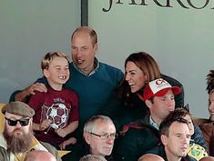 """"""" The Duke and Duchess of Cambridge, Prince George (and Princess Charlotte) watch the Premier League match between Norwich City and Aston Villa at Carrow Road on October 2019 in Norwich, United. Duke William, Prince William And Catherine, William Kate, Duchess Kate, Duke And Duchess, Duchess Of Cambridge, Princess Katherine, Princess Charlotte, Princess Diana"""