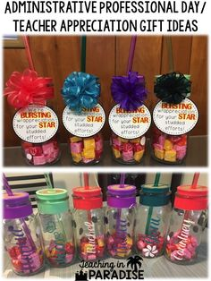 Teaching in Paradise: Gift Ideas for the Office Staff- Administrative Professionals Day Staff Gifts, Volunteer Gifts, Teacher Gifts, Teacher Assistant Gifts, Team Gifts, Nurse Gifts, Teacher Stuff, Employee Appreciation Gifts, Employee Gifts