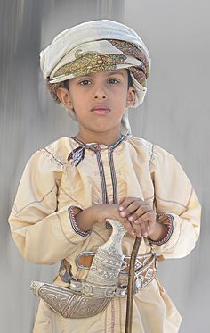 Omani Kid with the traditional dress code | Oman Tourism | Flickr