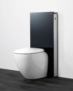 1000 images about bathroom water closets on pinterest closet water and black water for Wc deco modern