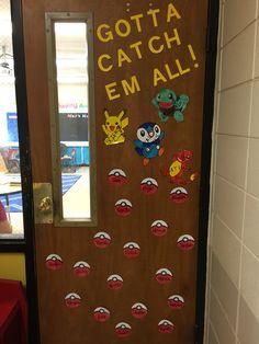 Pokemon Classroom Door