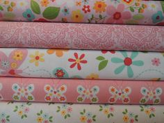 Garden Girl Rag Quilt Kit. This kit features all Cotton Quilting Fabric in cute floral Patterns for the top of the quilt. The middle and back of this quilt is white cotton flannel. Optional sewing available at checkout, sewing takes an additional 1-3 days. Finished size will be approx 38 x