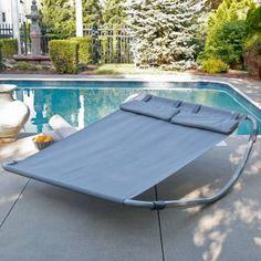 I absolutely NEED this! - Island Bay Double Sun Lounger Hammock Bed - Maya - Hammocks at Hammocks