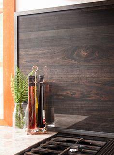 Emerald Residence Kitchen Splashback, Rustic Industrial- Silkwood Furniture