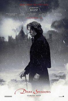 2012 Dark Shadows, starring Johnny Depp, Michelle Pfeiffer and Eva Green, directed by Tim Burton