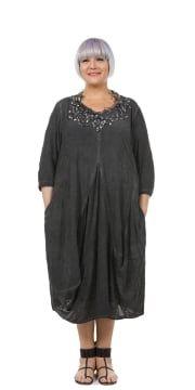 Black Manolito Architectural Dress