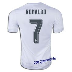 Cristiano Ronaldo  7 Real Madrid 15 16 Home Jersey Ronaldo 7 Real Madrid 5f35cfb6e2930