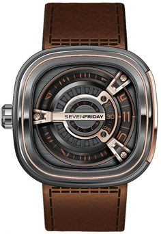 Love the industrial look and feel to Seven Friday watches. The M2-2 is by far my favourite.