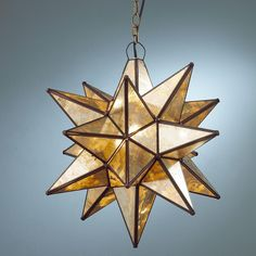 3 of these in varying finishes: Superior Moravian Star Light