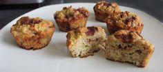Paleo Banana Cinnamon Bun Muffins | Lexiscleankitchen.com
