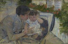 Mary_Cassatt_-_Susan_Comforting_the_Baby @ MFAH