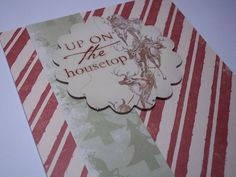 Christmas Card Christmas Greeting Card Handmade by LeasLetters