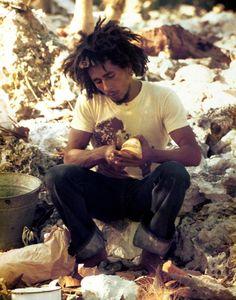 Bob Marley, 1973, by Lee Jaffe