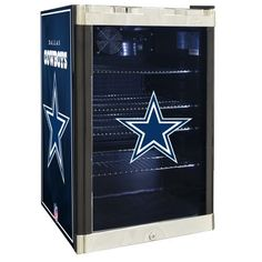 Wool Rug NFL Refrigerated Beverage Center cu ft Dallas Cowboys