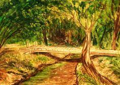 GALERIA PALOMO MARIA LUISA: PUENTECITO ....SOBRE EL ARROYO CAROLINA Vineyard, Outdoor, Bridges, Outdoors, Outdoor Games, Outdoor Living
