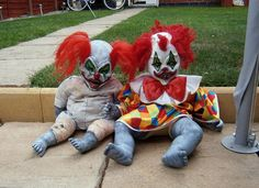 yes, twisted clown dolls