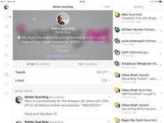 Tweetbot 4 for iOS (iPad) - hands on and walkthrough | Svartling Network