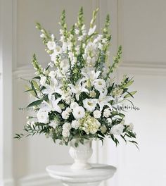 Mom would have loved seeing a huge formal arrangement like this.