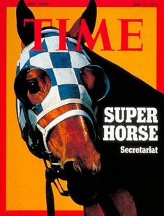 SECRETARIAT graces the cover of TIME magazine on June 11, 1973.