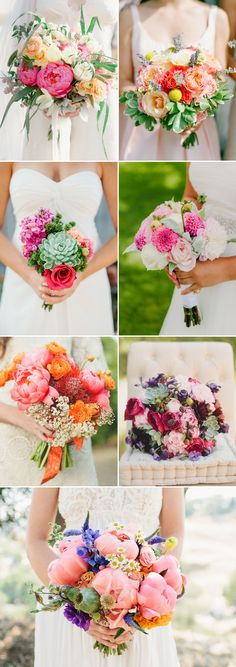 30 Gorgeous and Fun Summer Bouquets - Vibrant