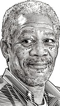 99 Wall Street Journal Hedcuts by Randy Glass   Creativeoverflow