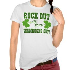 >>>Low Price Guarantee          	Rock Out With Your Shamrocks Out Tee Shirt           	Rock Out With Your Shamrocks Out Tee Shirt we are given they also recommend where is the best to buyShopping          	Rock Out With Your Shamrocks Out Tee Shirt Here a great deal...Cleck Hot Deals >>> http://www.zazzle.com/rock_out_with_your_shamrocks_out_tee_shirt-235390636712408444?rf=238627982471231924&zbar=1&tc=terrest