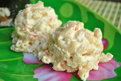 Hawaiian Mac Salad ~ Dog tags, Diapers, & DIY