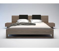 The Monroe platform bed is perfect for creating a look of Zen in your bedroom retreat. Both sleek and warm, the Monroe features an oversized, extended headboard overlapping two Designer Comforter Sets, Wood Bunk Beds, Study Room Design, Bedroom Retreat, Beds For Sale, Upholstered Platform Bed, Bed Reviews, New Beds, Apartment Living