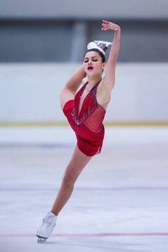Sofia Samodurova of Russia competes in the Junior Ladies Free Skating during day three of the ISU Junior Grand Prix of Figure Skating at Wurth Arena...