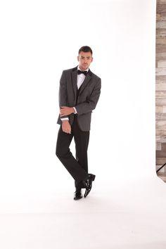 JOE in Gray @ Milroy's Tuxedos